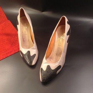 Salvatore Ferragamo Marla Pointed Toe Heels